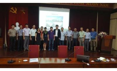 Hình ảnh buổi làm việc giữa ban lãnh đạo TGOOD và EVN Hà Nội