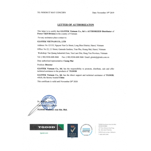 Ủy quyền TGOOD