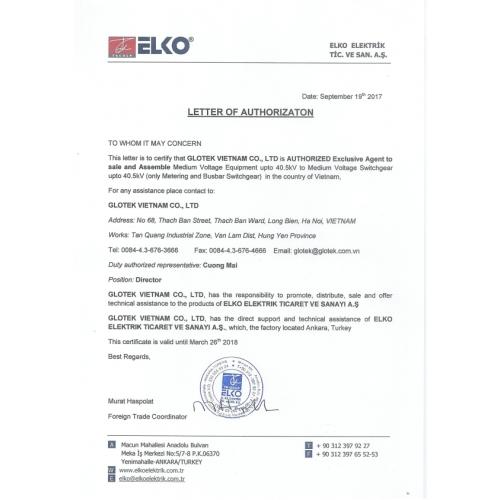 Ủy quyền ELKO