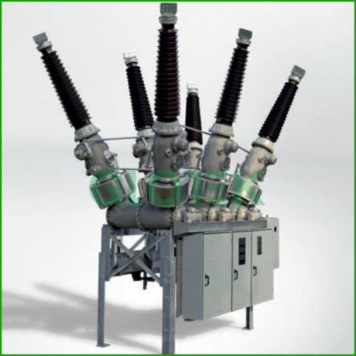 Máy cắt H-GIS điện áp lên tới 245kV - SIEMENS